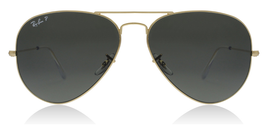 Ray-Ban RB3025 Gold 001/58 58mm Polarisiert