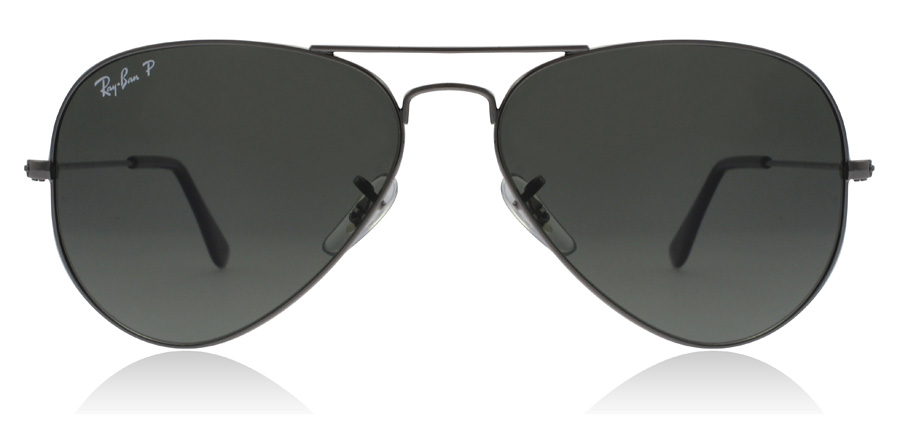Ray-Ban Aviator RB3025 Gunmetal 004/58 58mm Polarisiert