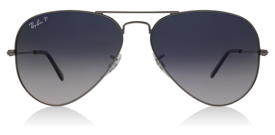 Ray-Ban RB3025 Gunmetal 004/78 55mm Polarisiert