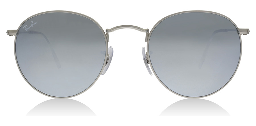 Ray-Ban RB3447 Mattes Silber 019/30 50mm