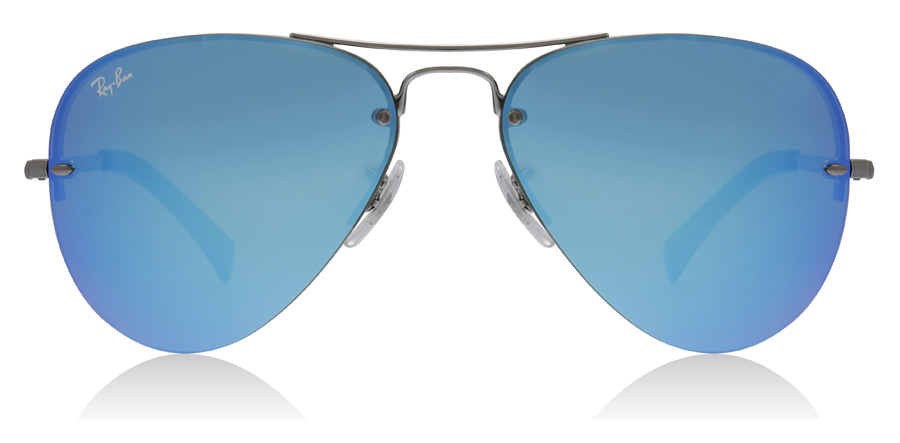 Ray-Ban RB3449 Gunmetal 004/55 59mm