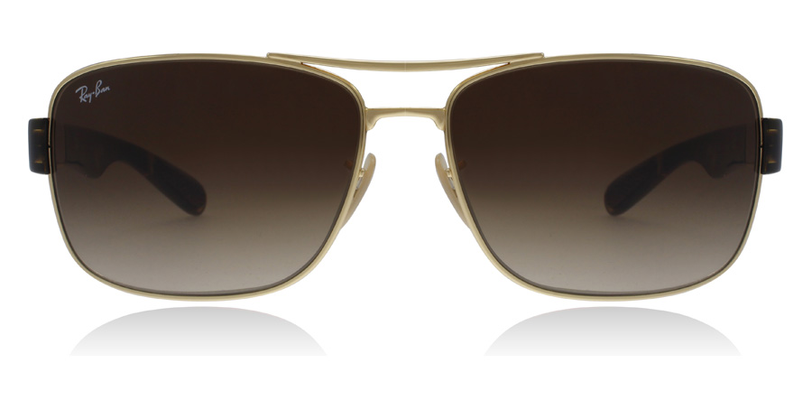 Ray-Ban RB3522 Sonnenbrille Gold 001/13 64mm xI16a