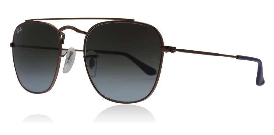 Ray-Ban RB3557 Sonnenbrille Helle Bronze 9001A5 54mm 1bbAN