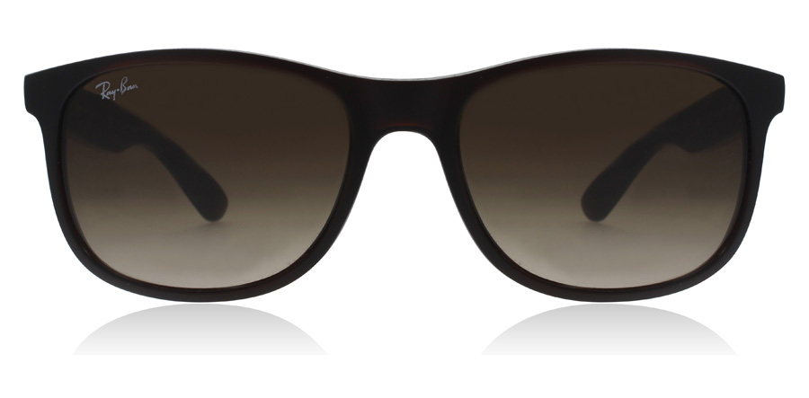 Ray-Ban Andy 4202 RB4202 Mattbraun 607313 55mm