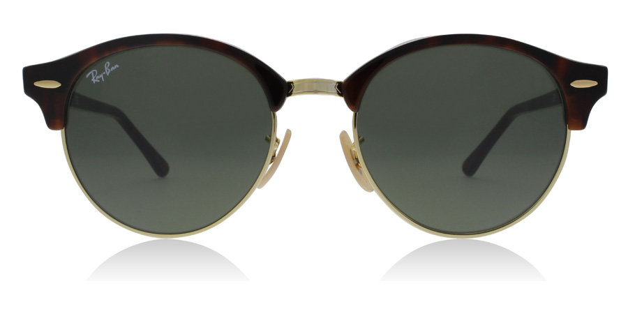 Ray-Ban RB4246 Clubround Havanna Rot 990 51mm