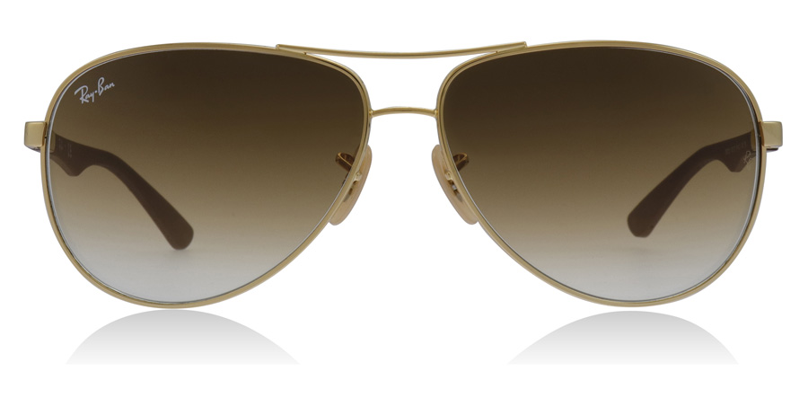 Ray-Ban 8313 Sonnenbrille Gold 001/51