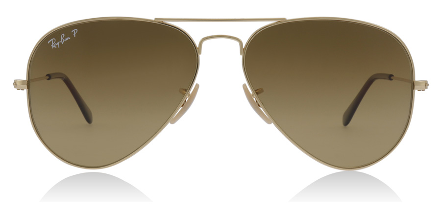 Ray-Ban Aviator RB3025 Gold 001/M2 58mm Polarisiert