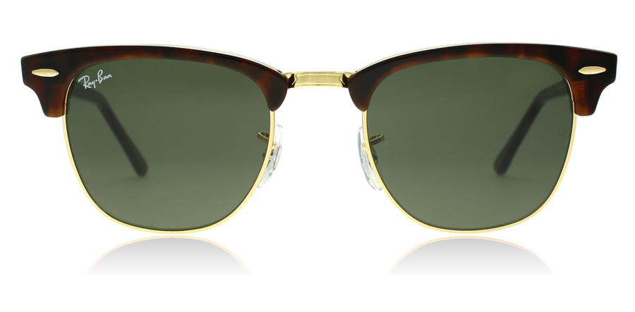 Ray-Ban Clubmaster RB3016 Gold / Tortoise W0366 49mm