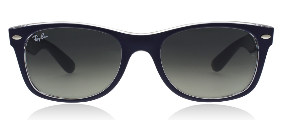 Ray-Ban RB2132 New Wayfarer Mattblau 605371 55mm