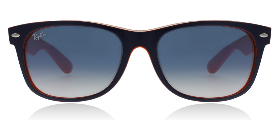 Ray-Ban RB2132 New Wayfarer Blau and Orange 789/3F 52mm