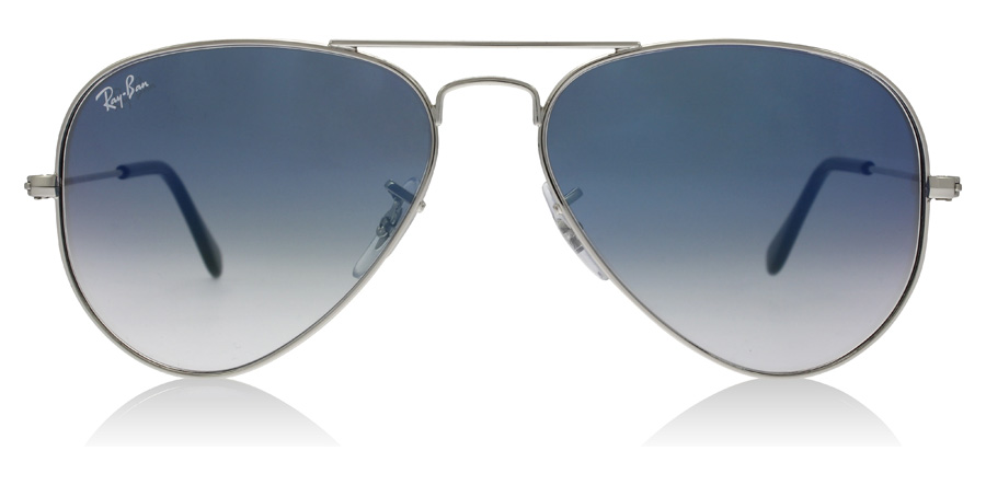 Ray-Ban Aviator RB3025 Silber 003/3F 62mm