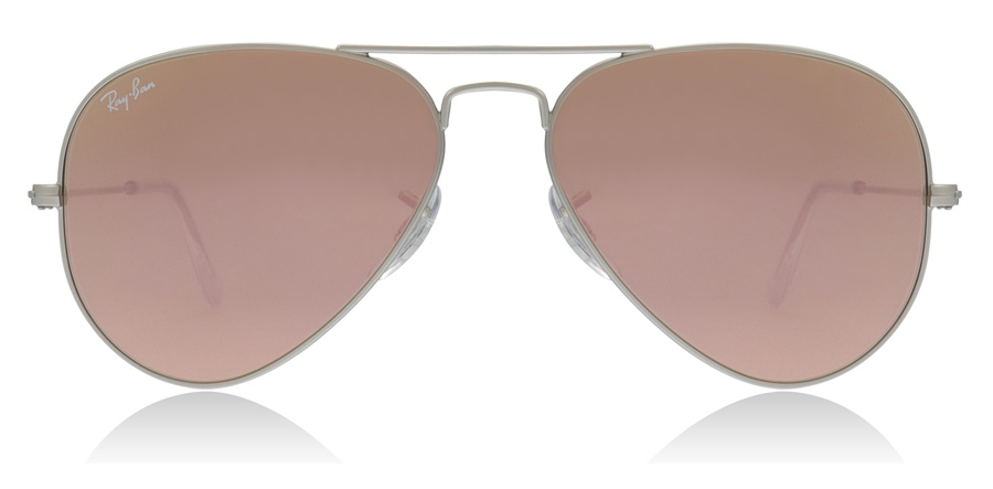 Ray-Ban Aviator RB3025 Silber 019/Z2 58mm