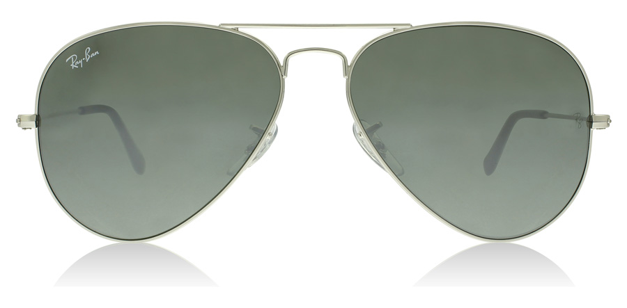 Ray-Ban Aviator RB3025 Silber W3275 55mm