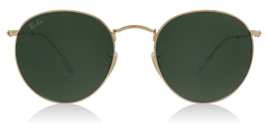Ray-Ban Round Metal RB3447 Gold 001 50mm