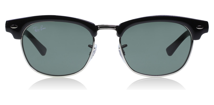 Ray-Ban Junior RJ9050S Age 4-8 Years Schwarz / Silber 100/71 45mm
