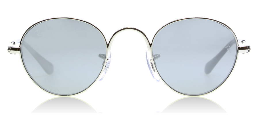Ray-Ban Junior RJ9537S Sonnenbrille Silber 212/6G 40mm wZAwZYS0w