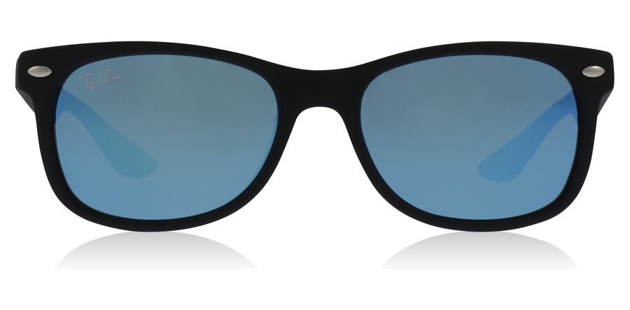Ray-Ban Junior RJ9052S Age 8-12 Years Schwarz 100S55 47mm