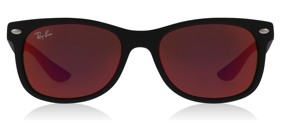Ray-Ban Junior RJ9052S Age 8-12 Years Schwarz 100S6Q 47mm