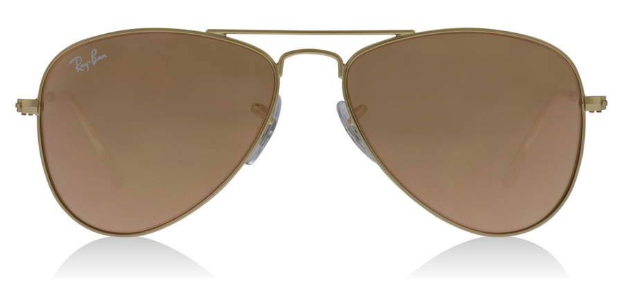 Ray-Ban Junior RJ9506S Age 4-8 Years Gold 249-2Y 50mm
