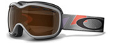 Oakley Goggles Stockholm Gretchen Bleiler Signature Series Tri Pop Silber 57-069 Small