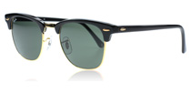 Ray-Ban 3016 Clubmaster Schwarz W0365 Small 49mm
