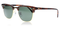 Ray-Ban 3016 Clubmaster Tortoise W0366 Small 49mm
