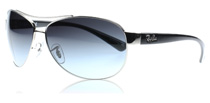 Ray-Ban 3386 Silber 003/8G Medium (63mm)