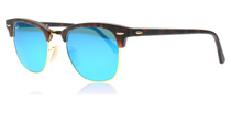 Ray-Ban Clubmaster Tortoise Gold 114517