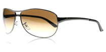 Ray-Ban 3342 Warrior Gunmetal 004/51 Small (60mm)
