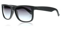Ray-Ban 4165 Justin Schwarz Rubber 601/8G 51mm