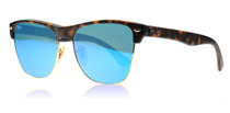 Ray-Ban 4175 Clubmaster Oversized Tortoise Gold 609217
