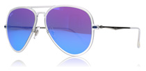 Ray-Ban 4211 Light Ray Matt Transparent 646/55