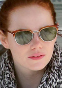 Emma Stone in Persol Sunglasses